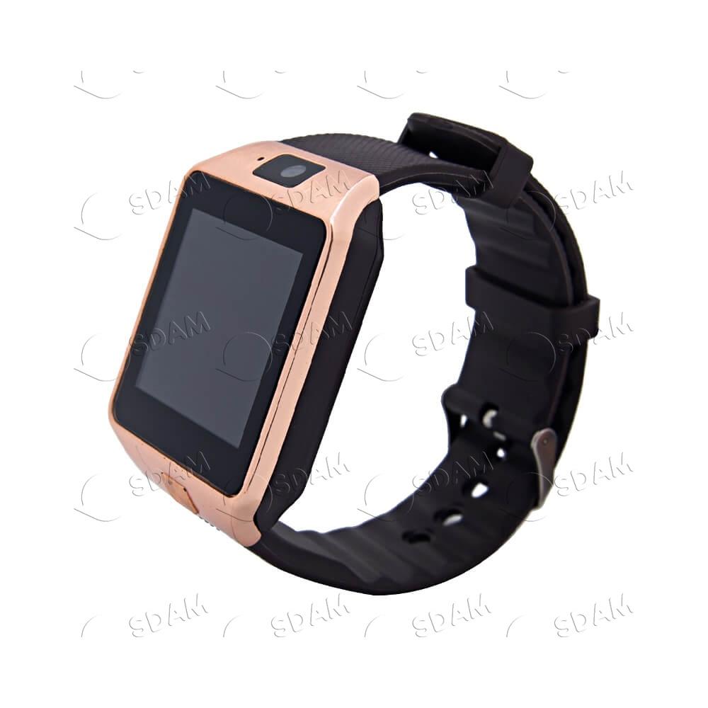 Смарт часы DZ09 (золотые) - 2